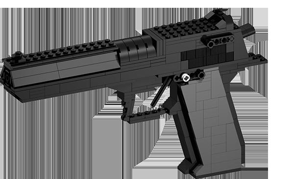 BrickGun - IMI Desert Eagle