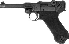 Real Luger P08 Left