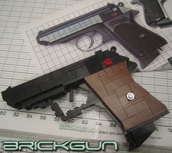 BrickGun PPK preview