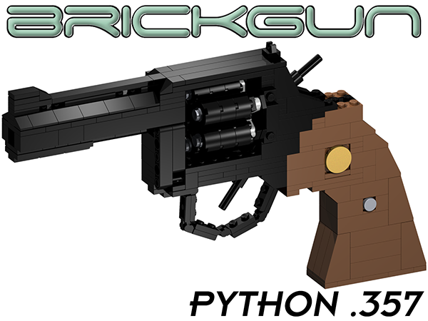 BrickGun Python 357 - Cylinder closed